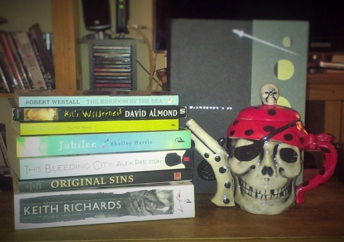 I got a load of new books and a dribbly Jolly Roger teapot out of it, for a start.