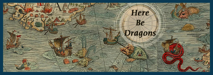 Here be dragons! Steemit from the point of view of a cartographer from the year ~1500 ? Steemit