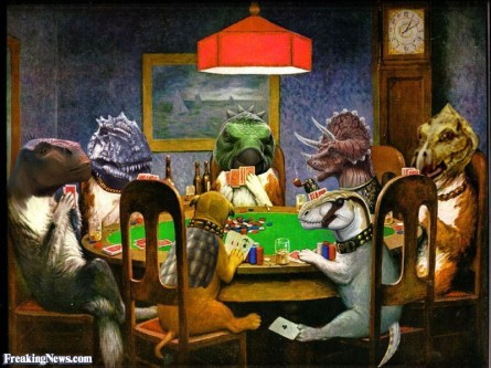 Dinosaur-Dogs-Playing-Poker--101043